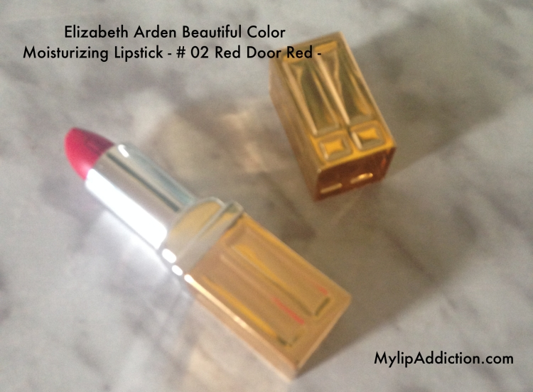 Elizabeth Arden Beautiful Color Moisturizing Lipstick - # 02 Red Door Red -
