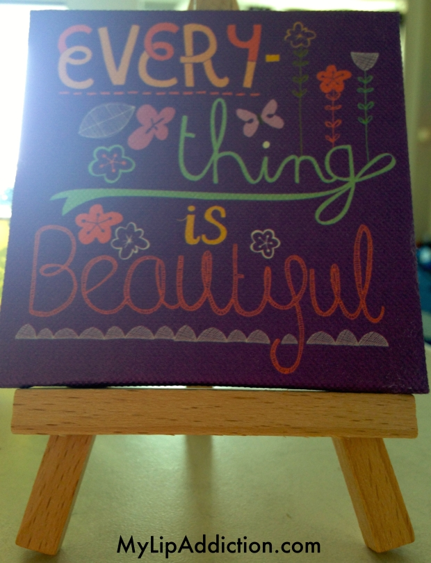 Everything is Beautiful mini Canvas