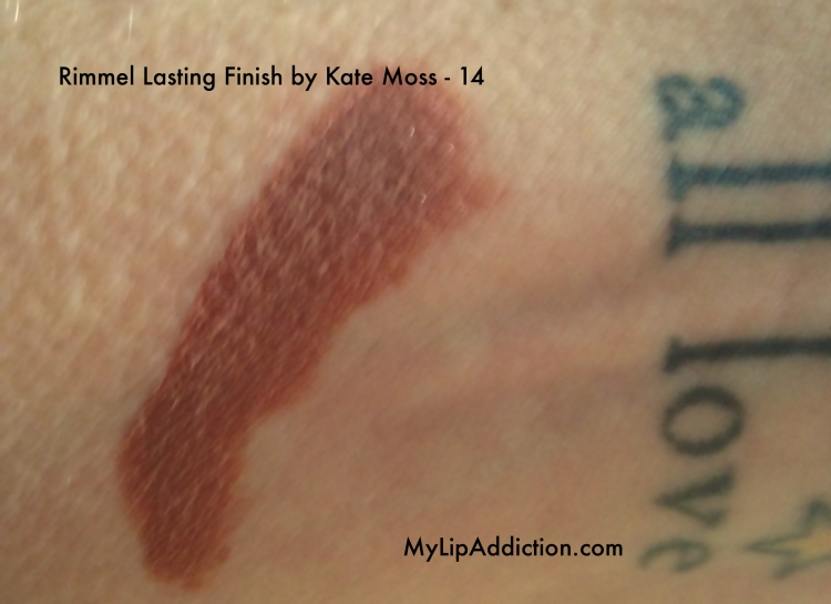 Rimmel Lasting Finish by Kate Moss - 14