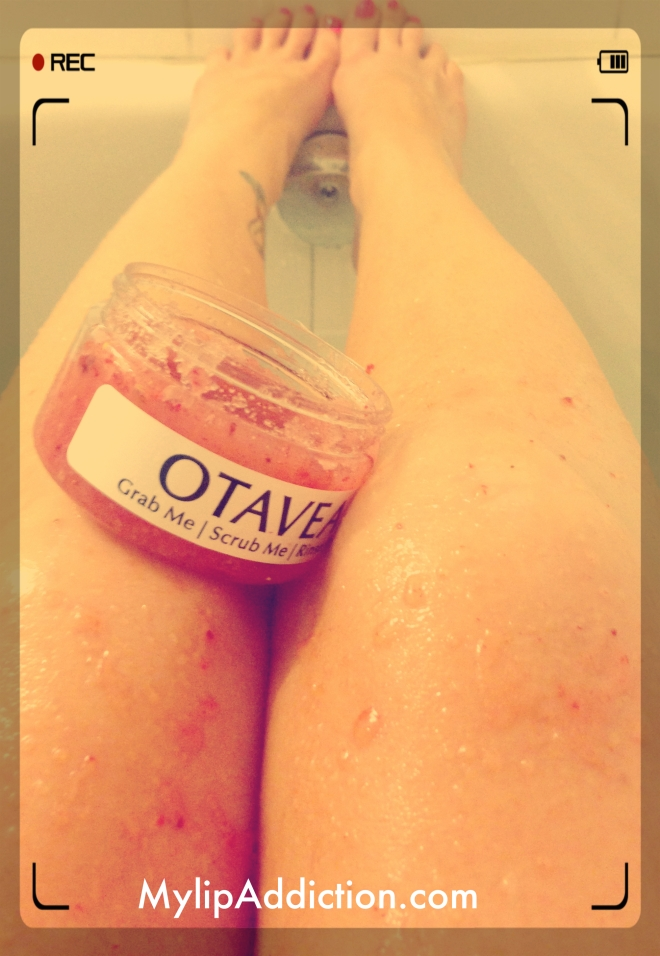 Otavea Strawberry scrub