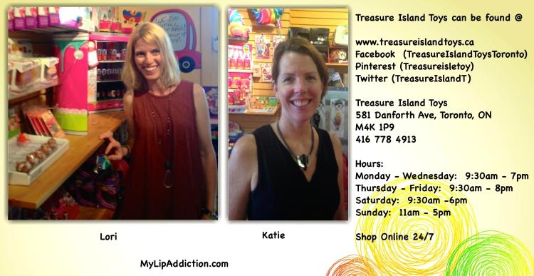 Lori and Katie Treasure Island Toys