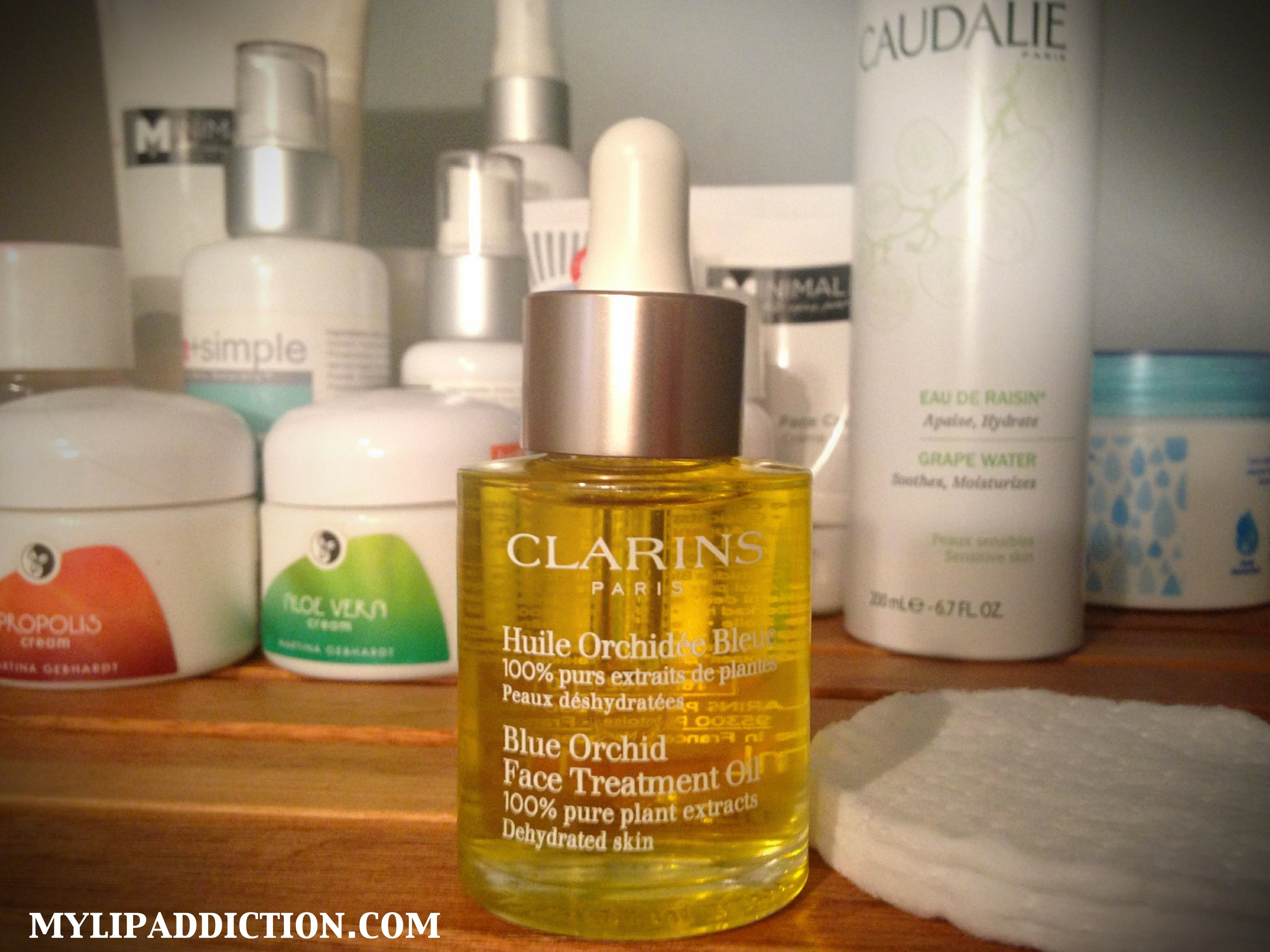 ROBYN: Clarins blue orchid ingredients
