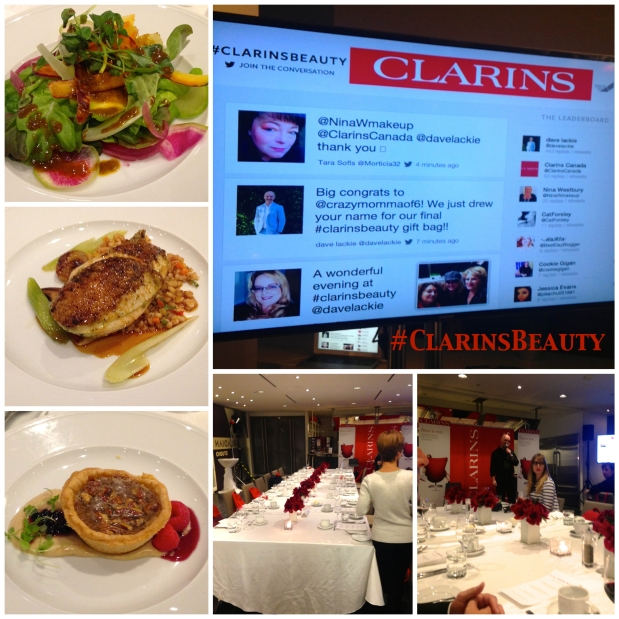 The Delicious dinner, the lovely set up and We were Live on Twitter ! It was a worldwide event!