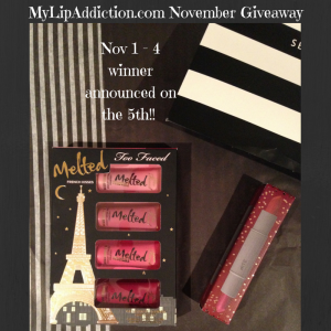 mylipaddiction.com november giveaway
