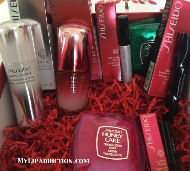 inside the box ! Thanks Dave Lackie & Shiseido Canada