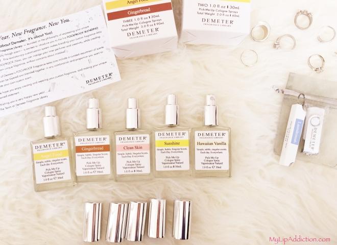 all the scents MyLipAddiction.com