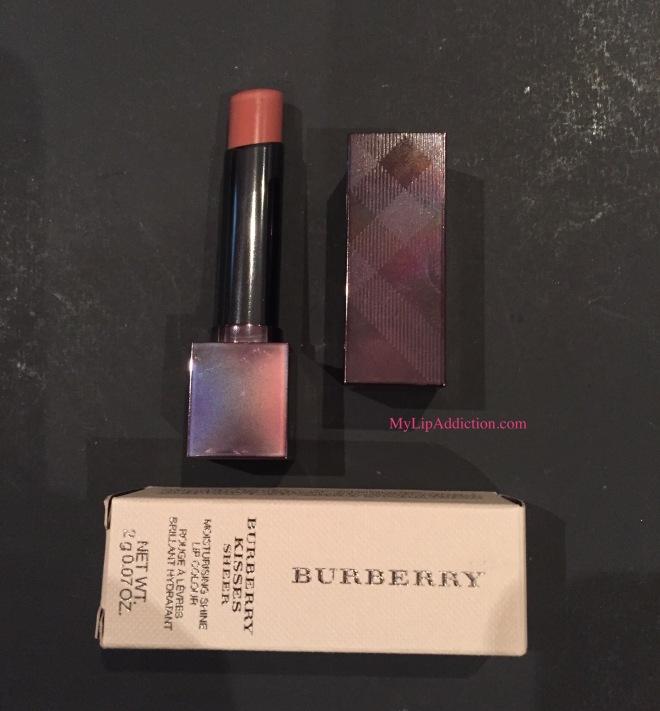 Burberry Kisses Sheer nude MyLipaddiction.com