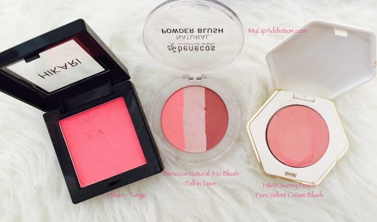 MyLipAddiction.com Blushes