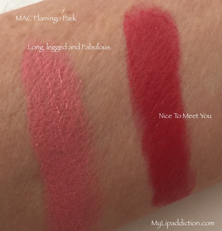 Flamingo Park Swatches MyLipaddiction.com