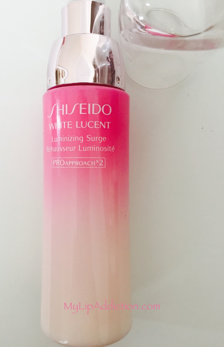 Shiseido White Lucent Luminizing Surge MyLipaddiction.com