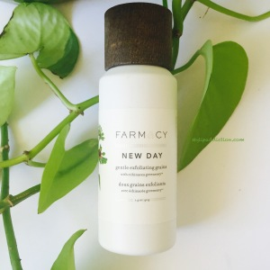 FARMACY New Day gentle exfolaiting grains MyLipaddiction.com