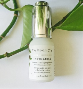 Invicible Root cell anti-aging serum FARMACY mylipaddiction.com