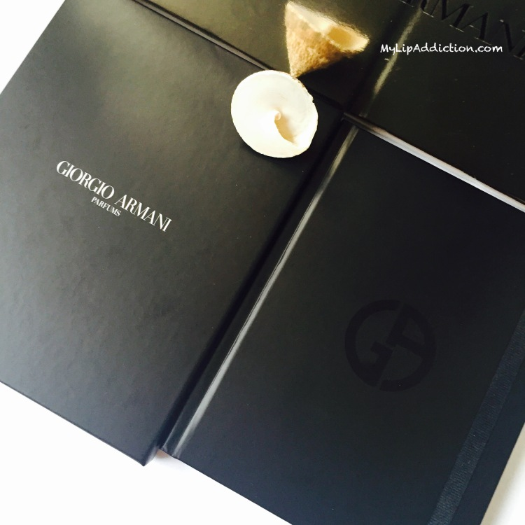 MyLipaddiction.com Giorgio Armani Parfums notebook