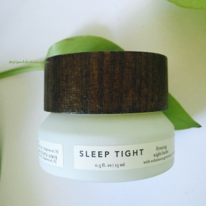Sleep Tight Firming night balm Farmacy MyLipaddiction.com