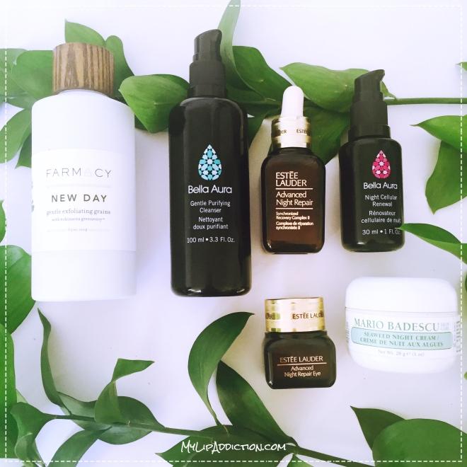 Nightime Skincare routine - MyLipaddiction.com