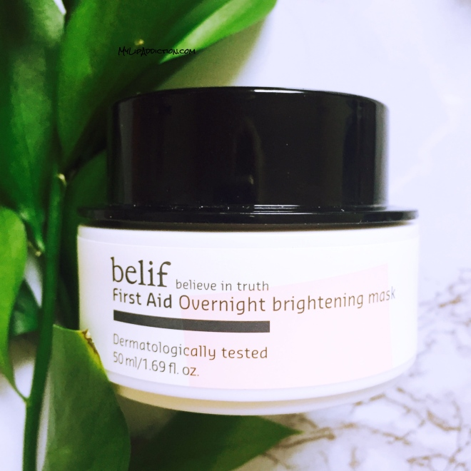 belif first aid overnight brightening mask - mylipaddiction.com .jpg