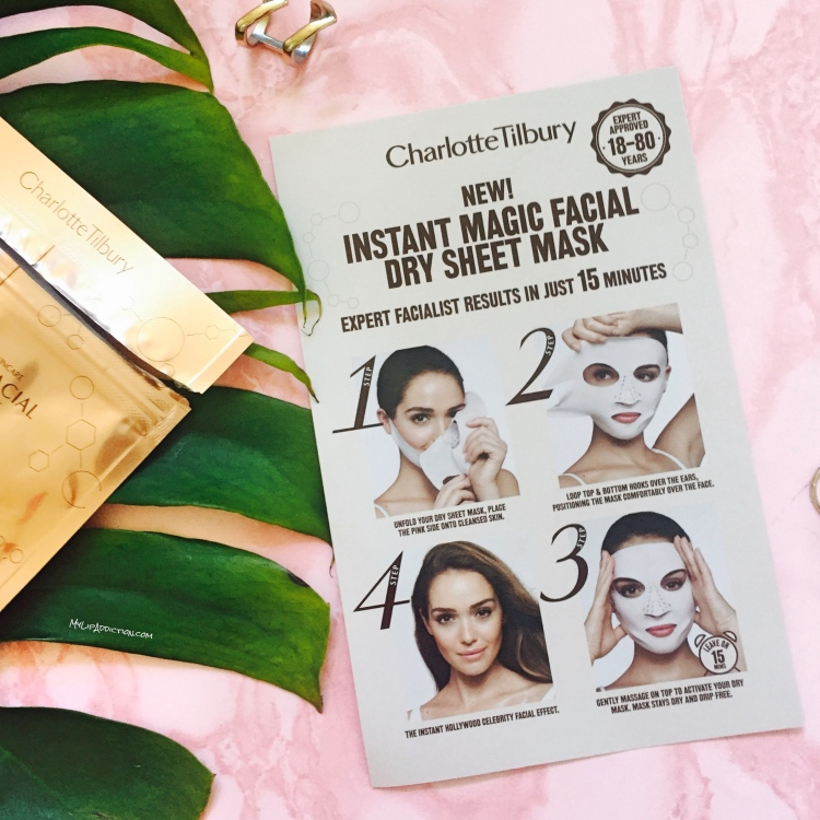 Charlotte Tilbury - New Dry Sheet Mask