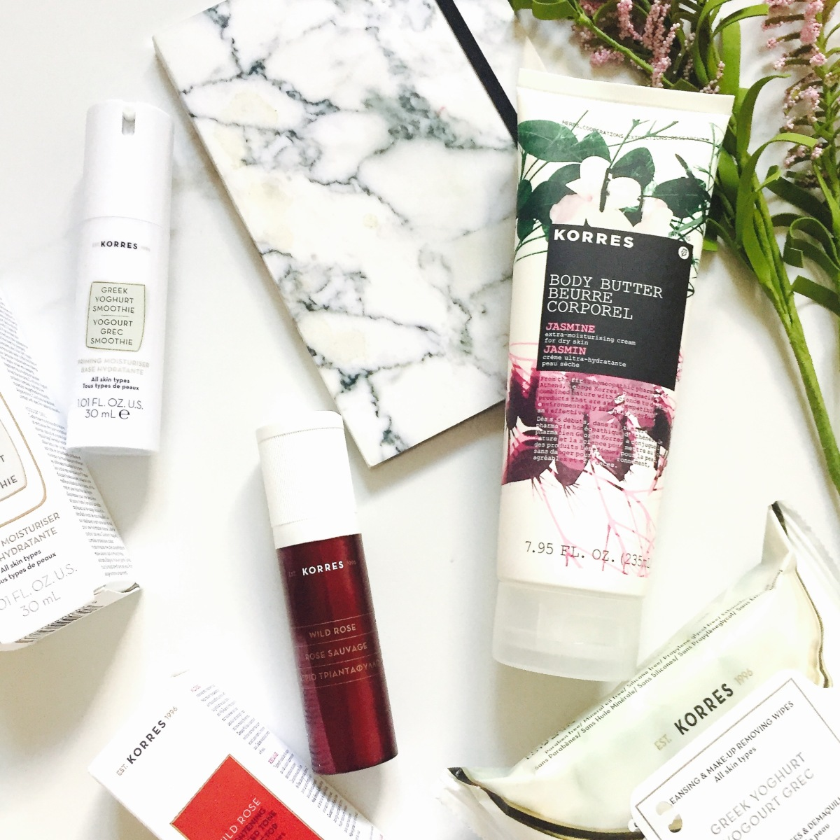 Korres Natural Products Skin Care Reviews