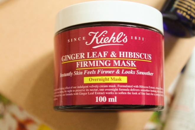 Ginger Leaf & Hibiscus Firming Mask