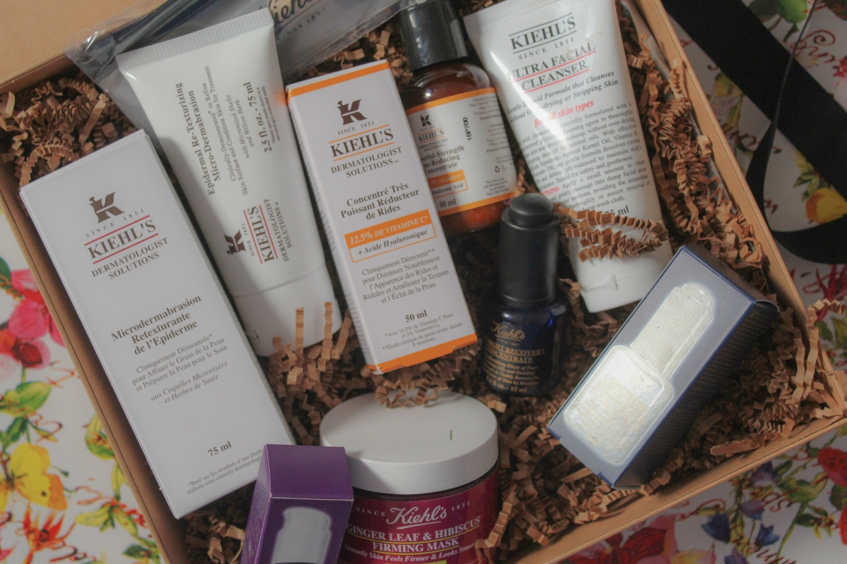 An Afternoon at Kiehl's - Skincare
