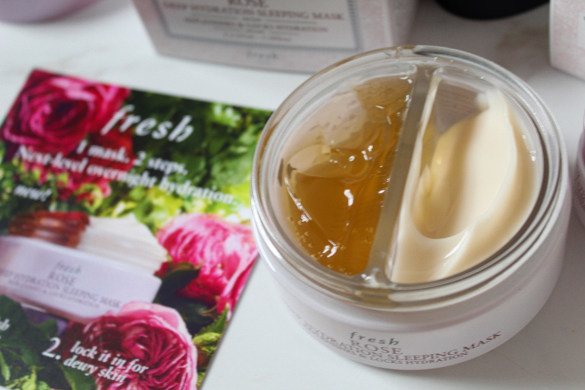 Fresh Rose Deep Hydration Sleeping Mask - The sleeping mask you need this Year !